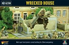 WRECKED HOUSE SCENERY - BOLT ACTION - WARLORD GAMES WW2