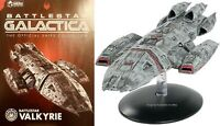 Eaglemoss Battlestar Galactica Battlestar Valkyrie Ship Replica NEW IN STOCK