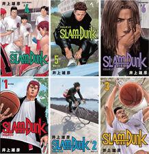 New 7-14 Days to USA. New Edition Slam Dunk Vol.1-6 Set Japanese Manga Comic