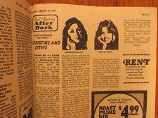 Ma-1977 Pa. TV Host Mag(STEVIE NICKS/CHRISTINE McVIE/FLEETWOOD MAC/BATTY MANILOW