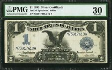 $1 1899 Black Eagle Silver Certificate PMG Very Fine 30 (Large Note)