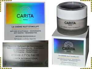 CARITA La Creme Nuit Stimulift Donna Antirughe Made France Fino - 80 % CT01 N1G