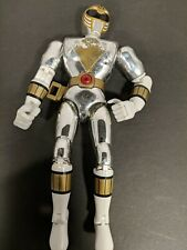 "1995 Bandai Power Rangers in Space 8"" Silver RangerMIGHTY MORPHIN POWER"