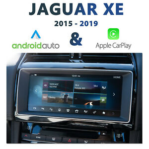 Jaguar XE InControl Touch / Pro Apple CarPlay & Android Auto Integration pack