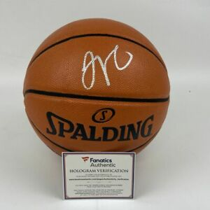 Autographed/Signed JAYSON TATUM Boston Celtics Spalding Basketball Fanatics COA