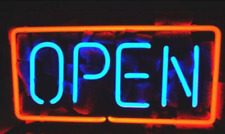 Business Open Bar Coffee Shop Neon Sign Lamp Light Beer Bar With Dimmer