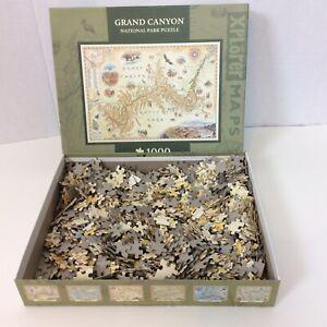 Grand Canyon National Park 1000 Piece Jigsaw Puzzle Masterpieces Xplorer Maps