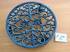 3 Stück PFLANZENROLLER rund Modell Ornament aus Gusseisen Modell hj005