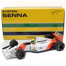 McLaren Honda f1 mp4/7 Ayrton Senna 1992 #1 Minichamps 540921801 1/18 New OVP