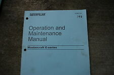 CATERPILLAR Mastercraft E Forklift Operation Maintenance Owner Manual book shop