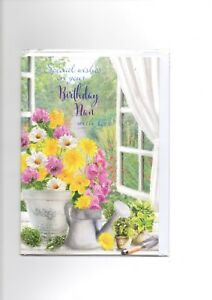 Birthday Greetings Card Family Wife,Mum,Nan,Sister, Nephew,Niece. incl. envelope