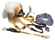 Honeywell Miller Brfk25 Z725ft Roofers Fall Protection Kit Size Universal