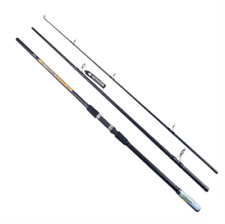 High Strength Carbon Fibre 3 Sections Surf Rods Casting Weight:100-300g