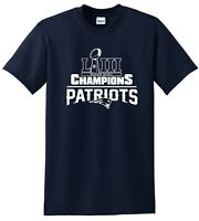 Super Bowl Champions LIII  New England Patriots Tee Shirts - Sweat Shirts