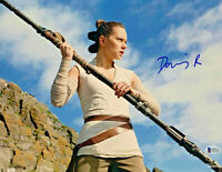 Daisy Ridley Signed Star Wars The Force Awakens 11x14 Photo 23 - Rey Beckett BAS