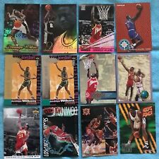 Dominique Wilkins 57 Card  Lot (Base, Subsets, Parallels, Inserts)