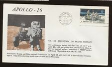 Apollo 16 - 5th Expediton on Moon Surface, Cape Canaveral FL  Apr 22, 1972