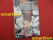 Star Wars Galactic Battlegrounds Saga PC Game NEW SEALED