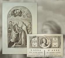 1791 Ridolfo Ghirlandaio HL Anna florentinische scuola St Anne Florentine School