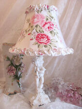 "7 "" LAMP SHADE Made W shabby Chic R Ashwell Wildflower Fabric Lampshade cottage"