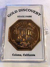 GOLD DISCOVERY MEDAL COLOMA CALIFORNIA