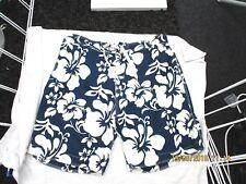 """tu"" mens shorts size xxl royal blue and white"