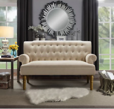 SOFA Chesterfield Settee Modern Mid Century Couch Danish Vontage Style Loveseat