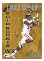 D.K. Metcalf Rookie Card 2019 Sage Hit #88 SILVER Ole Miss Seattle Seahawks RC