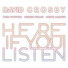 Audio CD David Crosby - Here If You Listen