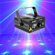 SUNY 18 Muster Laserlichter Projektor Disco DJ Party Lasereffekt Stage Show DHL