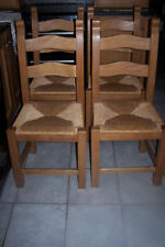 Unbranded Pine Chairs with 4 Pieces