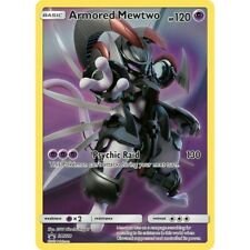 Armored Mewtwo SM228 Rare Holo Pokemon Promo Card (Sun & Moon Promo Series)