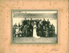 Photo ancienne mariage vendéen St Jean de Monts 1930
