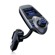 FM Transmitter Wireless Bluetooth Car MP3 Radio Charger USB Kit for iPhone7 UK