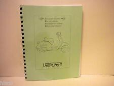 1999 Italjet Velocifero  Scooter Parts Manual
