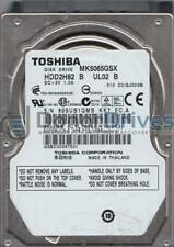 MK5065GSX, C0/GJ003M, HDD2H82 B UL02 B, Toshiba 500GB SATA 2.5 Hard Drive