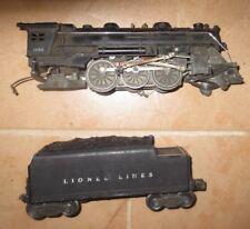 VINTAGE LIONEL ENGINE # 1666 & 2466WX TENDER (REPAIR)