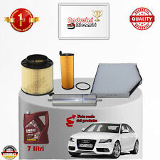 Replacement Filter Kit+Oil Audi A4 3.0 Tdi 176KW 240CV from 2009 -> 2012