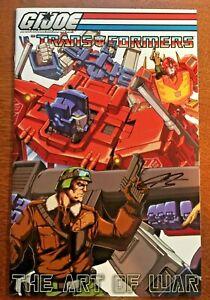 GI JOE VS THE TRANSFORMERS #1-5 Set DDP DEVILS DUE 2006 SIGNED Variant Covers!