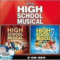 HIGH SCHOOL MUSICAL 1 + 2 2 CD OST NEU