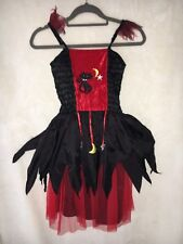 MARKS AND SPENCERS M&S FANCY DRESS WITCH GIRLS 6-8 YEARS HALLOWEEN COSTUME