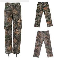 Realtree Edge, Xtra or Mossy Oak Break-up Camo Men's Cargo Multi-Pockets Pants