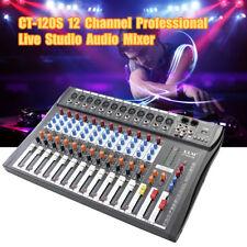 ELM CT-120S 12 canaux Professional Live Studio Mixeur audio Console de mixage US