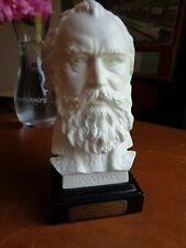 Vintage Goebel Bisque Johanna Brahms Bust Sculpture W. Germany Statue Composer