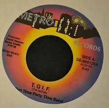 BEACH SOUL Part Time Party Time Band METRO 890120 T.G.I.F. and Cold Women