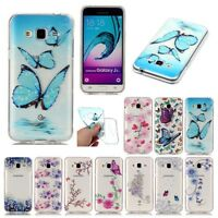 Ultra Slim Clear Soft TPU Gel Silicone Rubber Cover Case For Samsung Galaxy J3