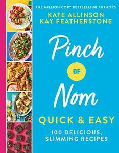 Pinch Nom Quick Easy 100 Delicious Cook Healthy Recipes Book Hardcover 10 Dec