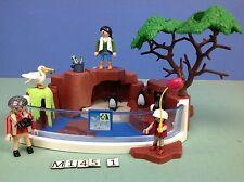 (M145.1) playmobil le bassin des pingouins 4462 peut contenir de l'eau