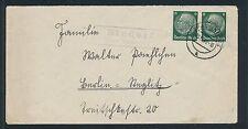 00048) Landpost Ra2 Eindorf über Trachenberg Brief 1940