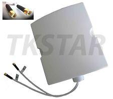 2600Mhz 1800MHz 800Mhz LTE 4G 3G GSM antenne amplificateur 2x SMA Routeur